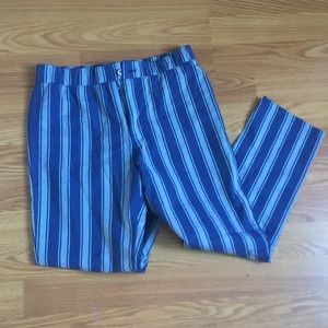 NWT Blue striped pants